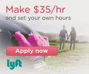 Lyft Drivers Wanted Arrowbear Lake,  Running Springs,  Snow Valley